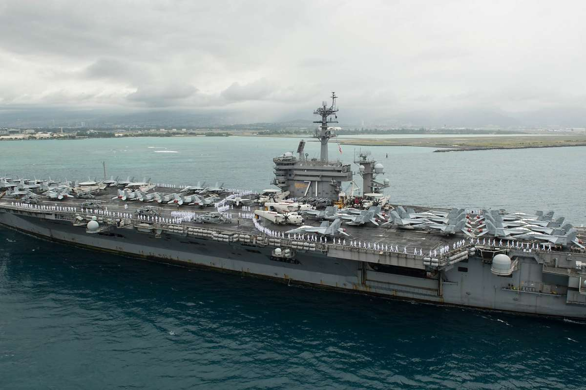 The USS Theodore Roosevelt, currently docked in Guam, has more than 100 sailors infected with the coronavirus.