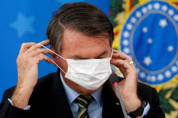 President Jair Bolsonaro of Brazil is clearly not ready to mourn the departure of his American counterpart.