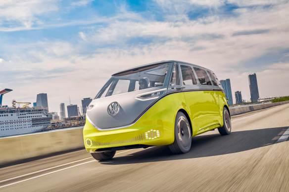 Volkswagen's ID Buzz vehicle.